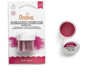 Polvere colorata fucsia - Perlescente