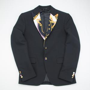 Giacca nera elegante Karl Mommoo