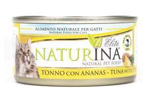 Naturina Elite Tonno Fegatini e Ananas Gatti