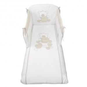 NUOVA COLLEZIONE 2019/2020 Completo piumone lettino  Baby Bear beige