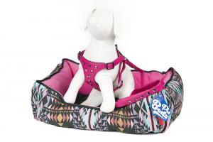 Pettorina Pelle con Borchie Pet Beds