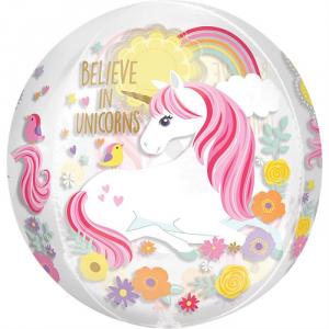 Pallone foil Unicorno