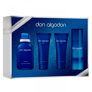Don Algodon Man Eau De Toilette Spray 100ml Set 4 Parti 2019