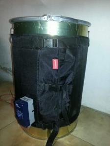 -  Fascia  scaldafusto  200  LT  con termostato regolabile  da  0°  a  150°  .-