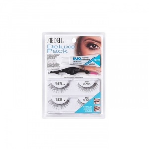 Ardell Deluxe Pack Lashes 110 Black Set 4 Parti