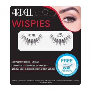 Ardell Wispies Lashes 603 Black Set 2 Parti