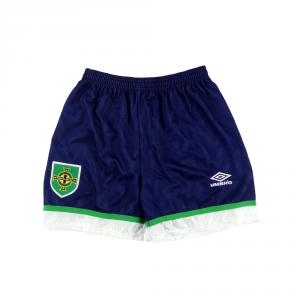 1992-94 Irlanda del Nord Pantaloncini Away M *Nuovi