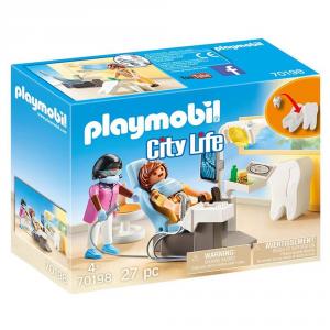 PLAYMOBIL DENTISTA 70198