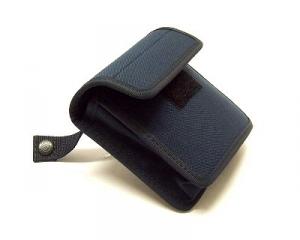 borsello in cordura nero portaoggetti.