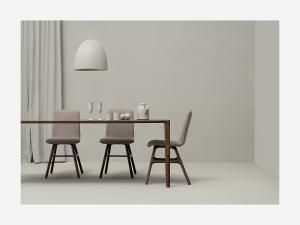 Tavolo in legno di rovere Ninas