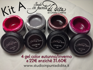 Kit A - 4 gel color autunno/inverno 2019/20