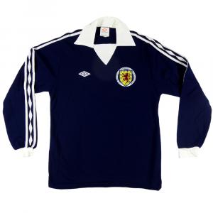 1976-79 Scozia maglia Home M *Nuova