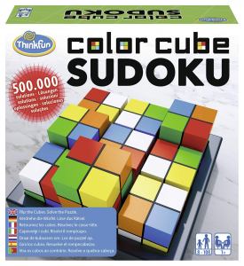 Color Cubes Sudoko