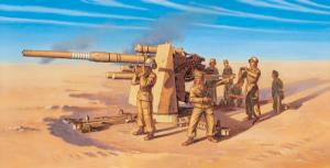 8.8CM FLAK 37 AA GUN W/ 8 CREW