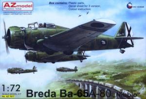 Breda Ba-65A-80 'Nibbio' over Spain (3xcamo)