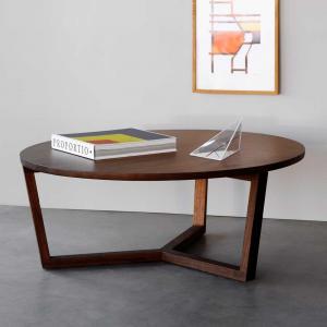Tavolino da caffè in legno Tripod