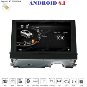 ANDROID navigatore per Audi A3 2013-2018 GPS WI-FI Bluetooth MirrorLink 4GB RAM 64GB ROM Octa-Core 4G LTE