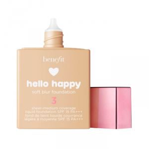 Benefit Hello Happy Soft Blur Foundation Spf15 3 Light Neutral 30ml