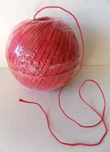 Spago gomitolo rosso GR.200 conf. da 6 pz.
