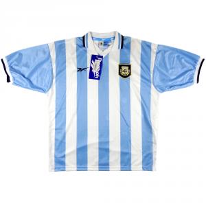 1999-00 Argentina maglia home XL *Nuova