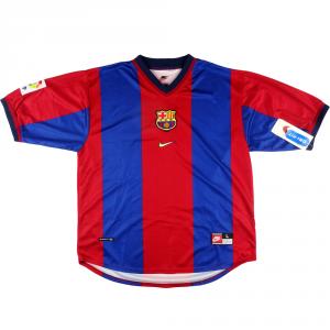 1998-00 Barcelona Maglia Home L *Nuova