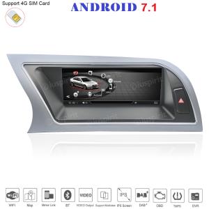 ANDROID 8.8 pollici navigatore per Audi A4/RS4/8K/B8/8T/4L 2013-2016 GPS WI-FI Bluetooth MirrorLink 4GB RAM 32GB ROM 4G LTE