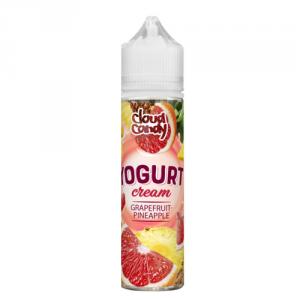 Yogurt Cream Grapefruit-Pineapple