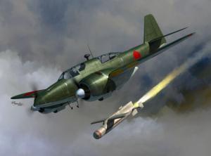 Ki-102 and I-Go rocket