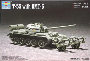 T-55 WITH KMT-5
