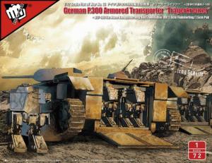 German P300/2 PanzerKampfWagen und Träger
