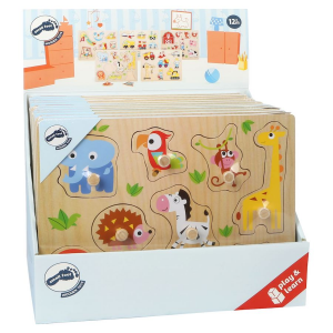 Puzzle in legno small foot Espositore da bancone