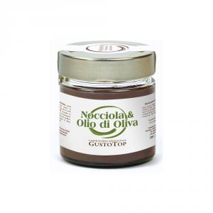 Spalmabile al cioccolato cremoso all'olio d'oliva, confezionato in vasetto da 200 gr