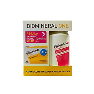 Biomineral One Compresse e Shampoo Ristrutturante