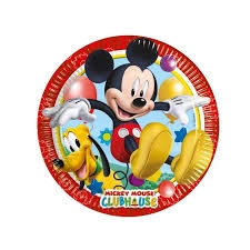 Piatti piccoli club house mickey mouse