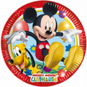 Piatti grandi club house mickey mouse