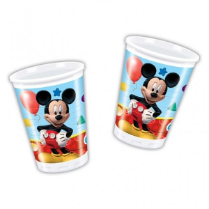 Bicchieri club house mickey mouse