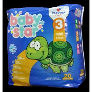 Baby Star 3 Midi 4/9Kg