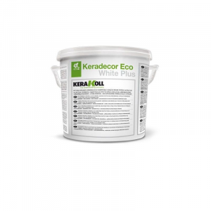 Kerakoll keradecor eco white plus 1001 pittura bianca 14l