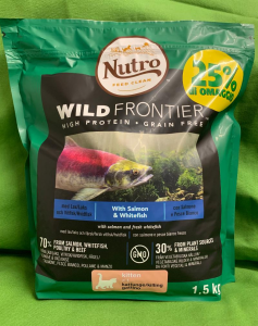 WILD FRONTIER KITTEN Salmone & Pesce bianco 1.5kg