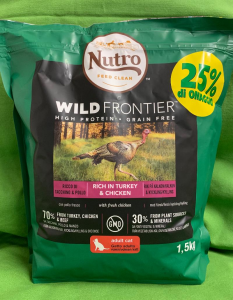 WILD FRONTIER Adult Tacchino & Pollo 1.5kg