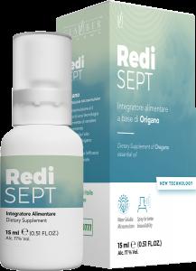 Redi SEPT Forza Vitale 15 ml - Glauber Pharma - Nanoemulsione NOVITA'