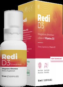 Redi D3 Forza Vitale 15 ml - Glauber Pharma -Nanoemulsione