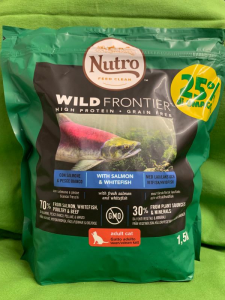 WILD FRONTIER Adult Salmone & Pesce bianco 1.5kg