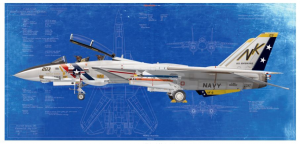 GRUMMAN F-14A TOMCAT VF-2 BOUNTY HUNTERS