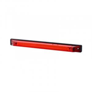 Fanalino d'ingombro lungo rosso 12/24V