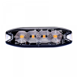 Luce strobo 4 led 12/24V