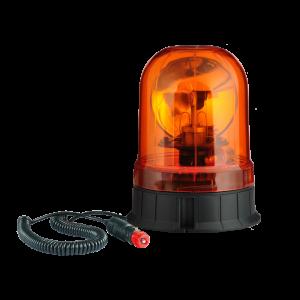 Lampeggiante rotativo lampada alogena 24V