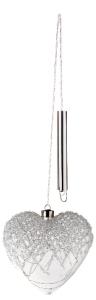 L'OCA NERA CUORE MEDIO CON LED CM. 16X16 1XM28011