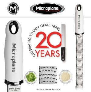 MICROPLANE GRATTUGIA PREMIUM ZESTER MANICO COLORE BIANCO LINEA PREMIUM CLASSIC 46301E