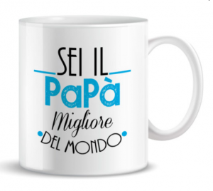 + FORTY MUG SEI IL PAPA' MIGLIORE DEL MONDO TZ60